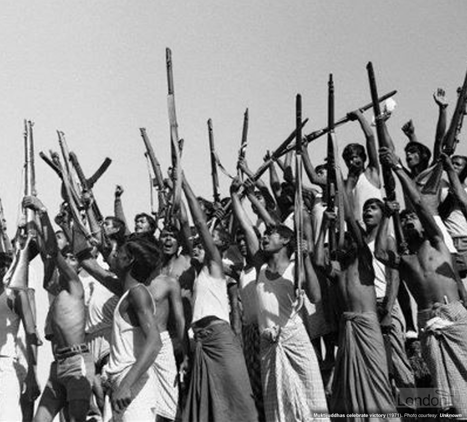 Heroic Muktijuddhas (Freedom Fighters of Bangladesh Liberation War)