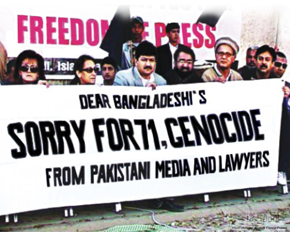 Pakistani supporters apologise for 1971 Bangladesh genocide