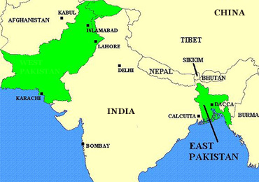 East and West Pakistan 1947